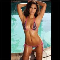 Raquel Pomplun in a bikini