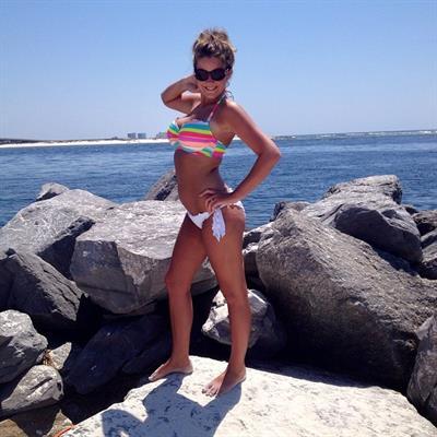 tessa in a bikini
