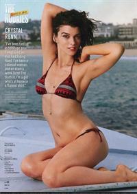 Crystal Renn in a bikini