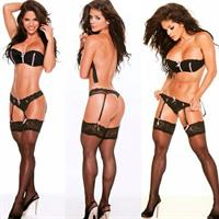 Michelle Lewin in lingerie - ass