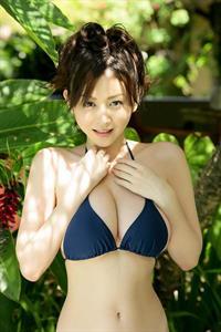 Anri Sugihara in a bikini