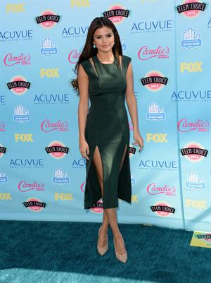 Selena Gomez attends the 2013 Teen Choice Awards Universal City California August 11 2013