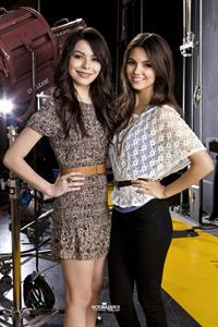 Victoria Justice - 2011 Nicklodeon Promo Shoot 2011 Promo Shoot For iparty With Victorious Crossover Show