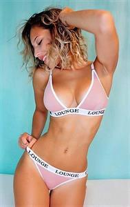 Vicky Justiz in a bikini