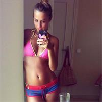 Lucy Watson in a bikini