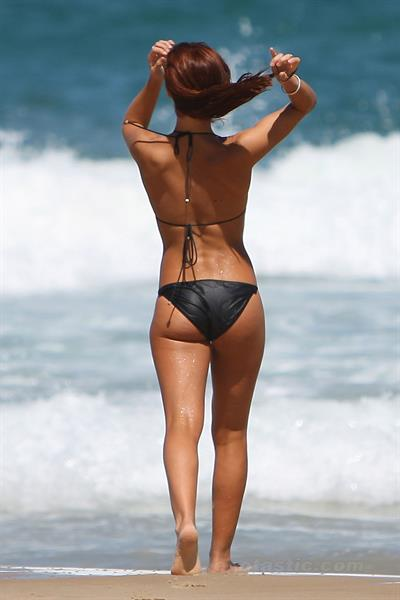 Lauren Brant in a bikini - ass