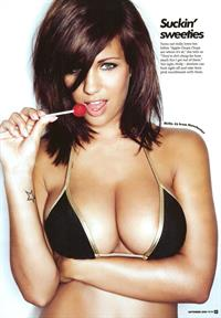 Holly Peers in a bikini