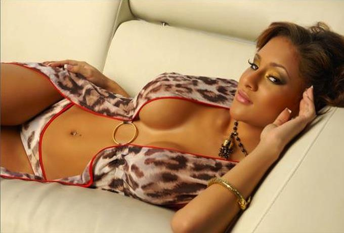 Brittany Dailey in lingerie