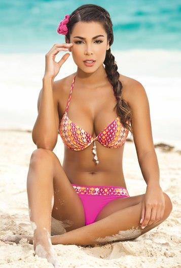 Cristina Camargo in a bikini