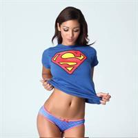 Melanie Iglesias Superman Tshirt