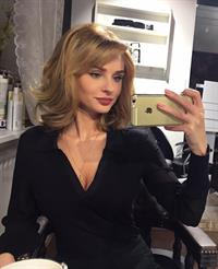 Ksenia Girnik taking a selfie