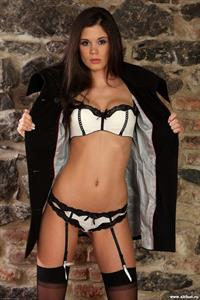 Little Caprice in lingerie