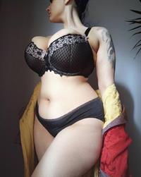 Don Enaya in lingerie