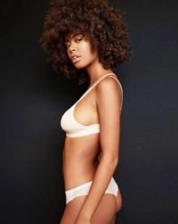 Nereyda Bird in lingerie