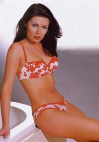 Alison King in lingerie