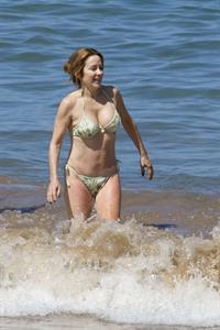 Patricia Heaton in a bikini