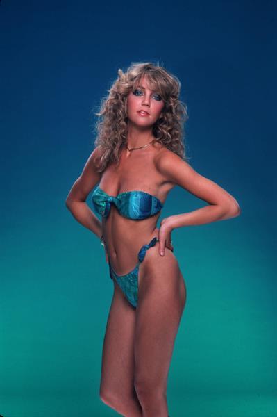 Heather Locklear in a bikini