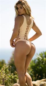 Suelyn Medeiros in lingerie - ass
