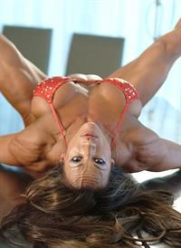 Amber Deluca in a bikini