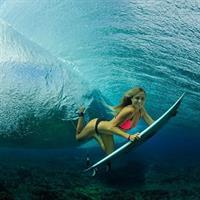 Alana Blanchard in a bikini
