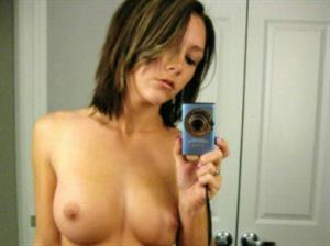Carrie Cummings Taking A Selfie And Breasts