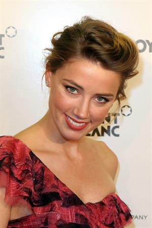 Amber Heard at the Tribeca Performing Arts Center in New York on September 21, 2010