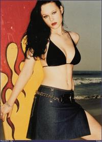 Thora Birch in a bikini