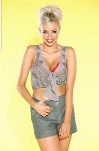 Sacha Parkinson in lingerie