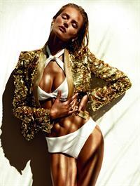 Edita Vilkeviciute in a bikini
