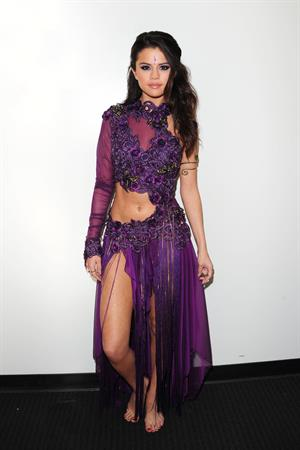 Selena Gomez Backstage at Dancing With the Stars in LA 4/16/13