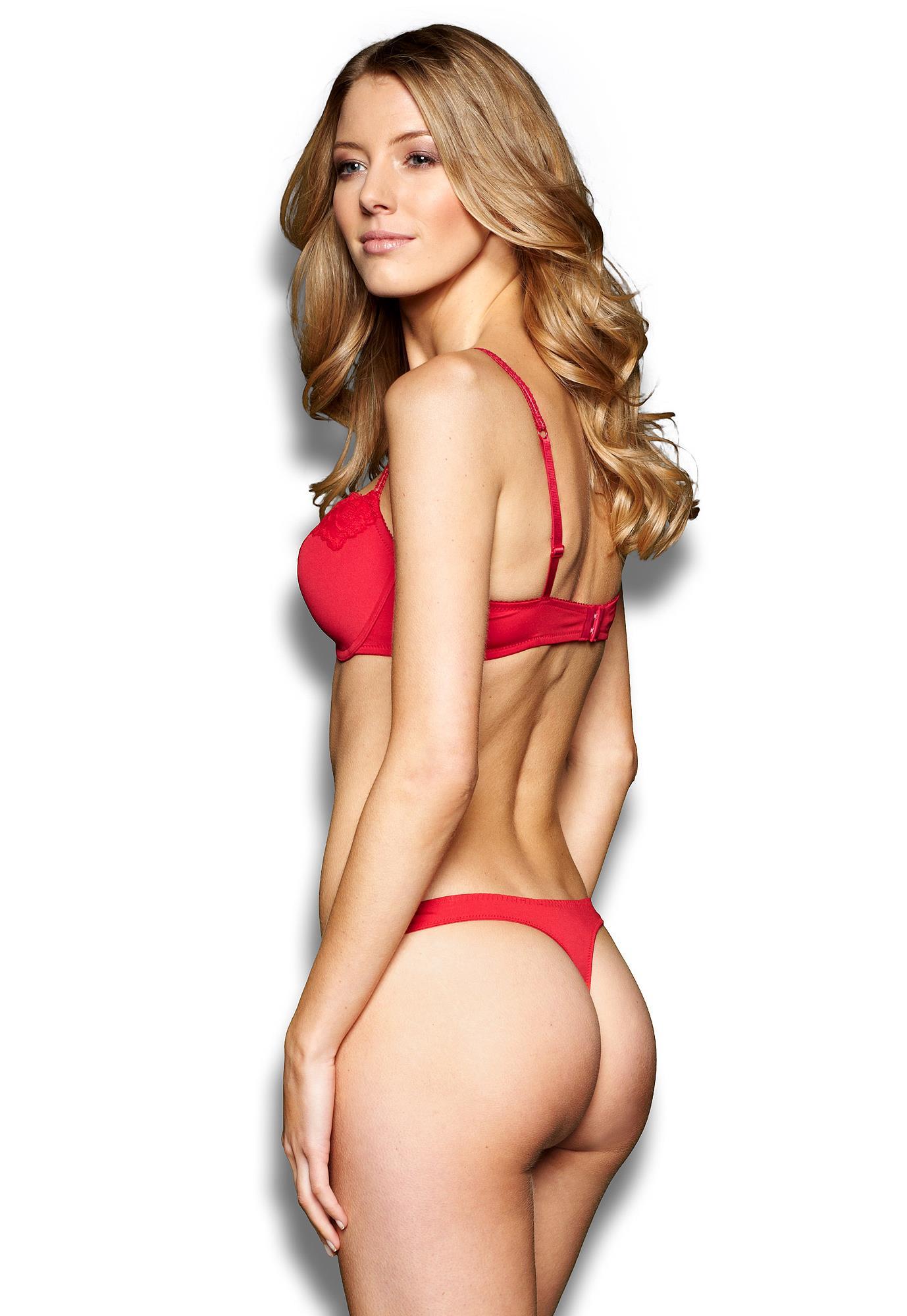 Elisabeth van Tergouw in lingerie - ass