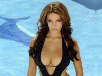 Holly Peers in a bikini