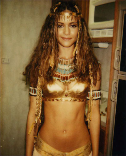 Lisa Marcos in a bikini