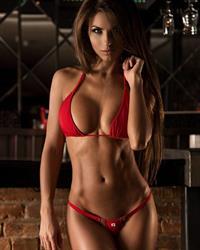 Daria Shy in a bikini