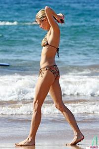 Brooke Burns in a bikini
