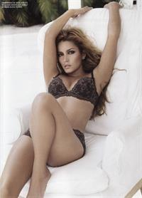 Adriana Fonseca in lingerie