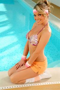 Becky Rule in a bikini