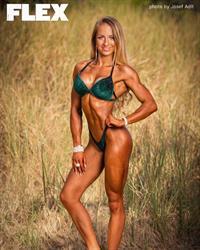 Sandra Dobrunz in a bikini