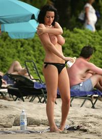 Sophie Howard in a bikini - breasts