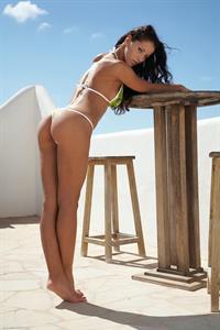 Angel Dark in a bikini - ass