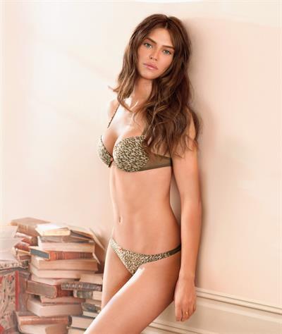 Bianca Balti in a bikini