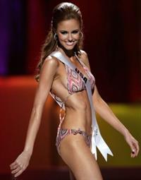 Alyssa Campanella in a bikini