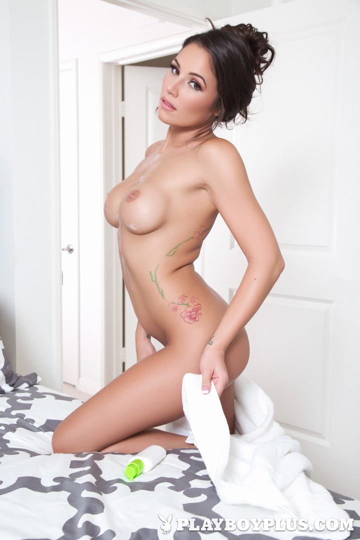 Leilani shower Candace nude after