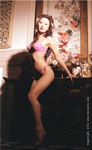 Kaila Yu in lingerie