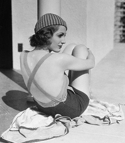 Adrienne Ames in a bikini