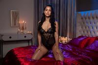Alina Lopez in lingerie