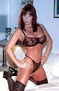 Kylie Ireland in lingerie