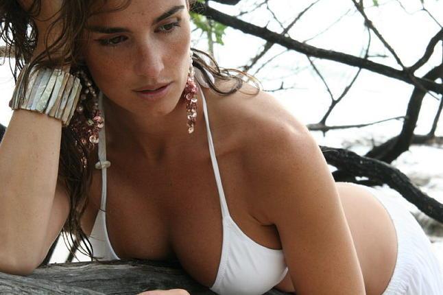 Paz Vega in a bikini