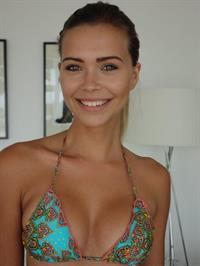 Sandra Kubicka in a bikini