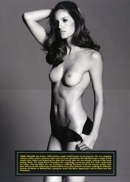 Goulart topless izabel WOW! Model
